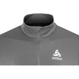 Odlo Core Light 1/2 Zip Midlayer Men black-odlo graphite grey